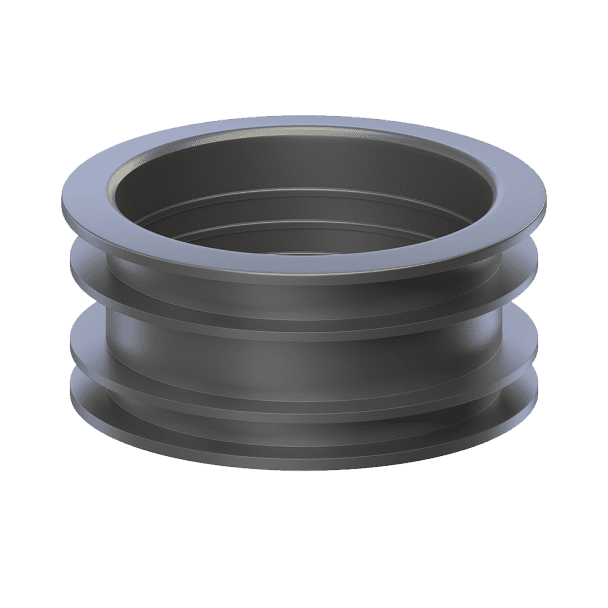 90/110 rubber reducer